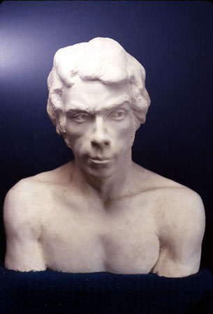 Portrait of Man- plaster