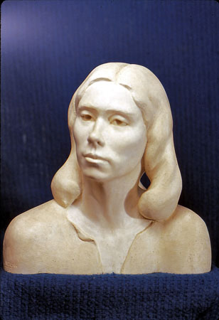 Portrait of Woman- plaster2